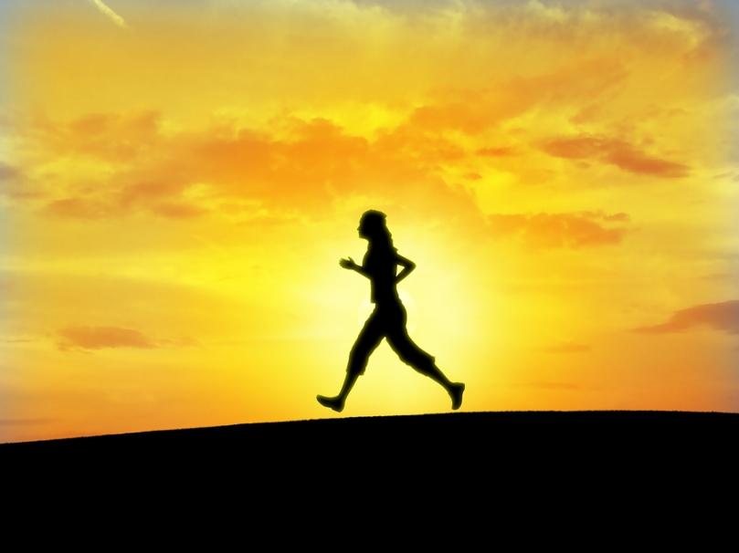 bigstockphoto_sun_running-woman